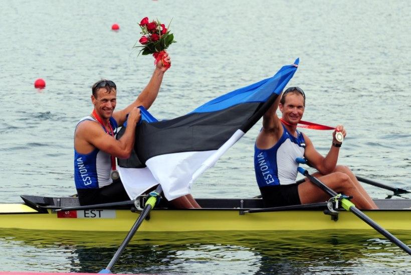 TOHOH! Olümpiasangarid Jüri Jaanson ja Tõnu Endrekson istuvad taas kahepaati