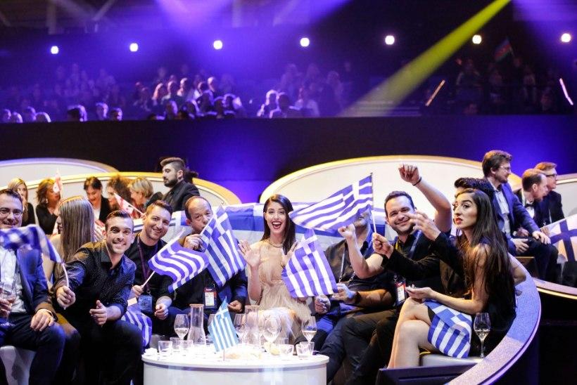 HIIGELGALERII   Vaata, millised meeleolud valitsesid pärast Eurovisioni poolfinaale lava taga!