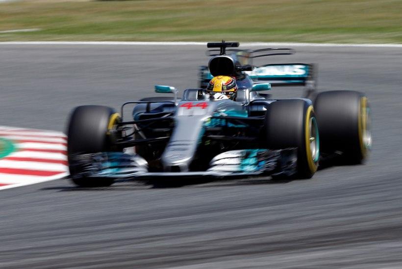 Napilt Vettelit edestanud Hamilton stardib Hispaania etapile esikohalt