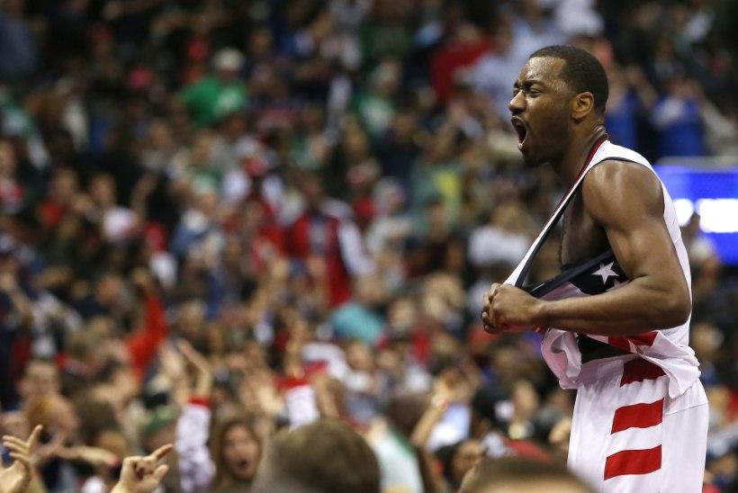 VIDEO | Celticsi mängijad tulid Wizardsi matustele, aga võivad hoopis ise välja langeda