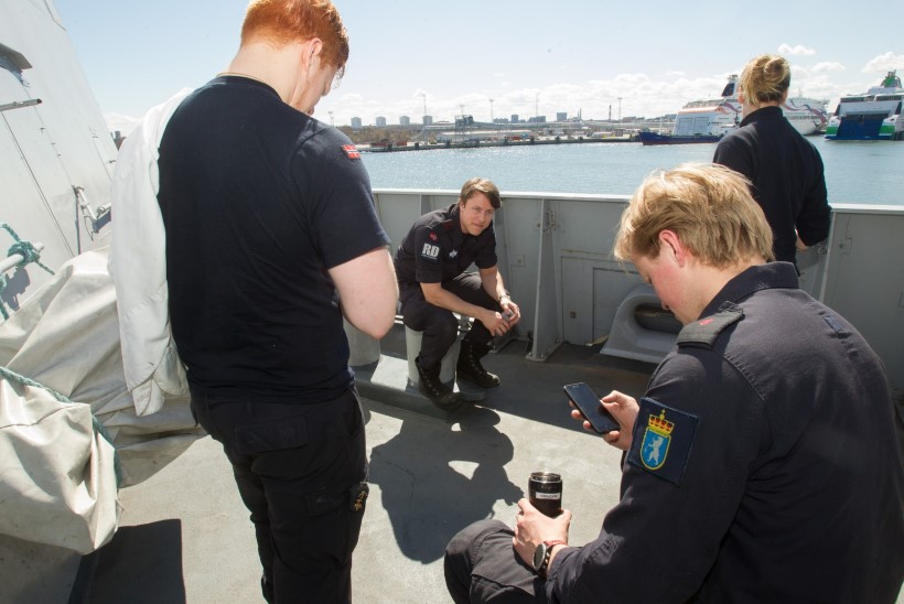 Tallinna saabunud NATO lipulaeva kapten läheb Norra vana sõjalaeva vaatama