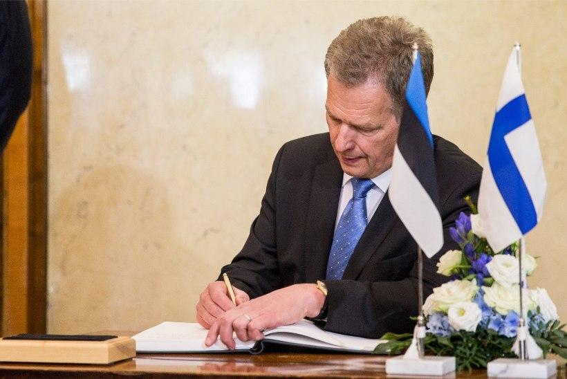 Soome riigipea: mäletame president Koivistot suure tänutundega