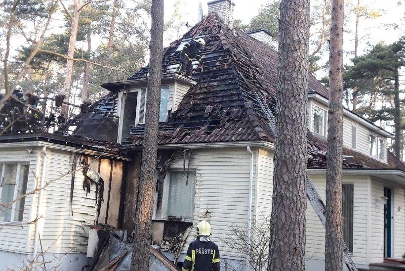 Tsahkna pääses põlengust tervena tänu naabritele