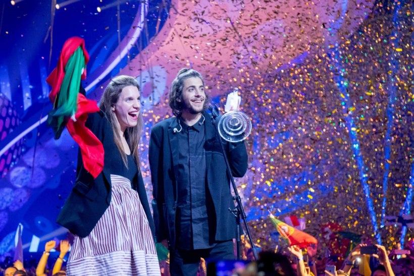 """Eurovisioni võitja Salvador Sobral: """"Tõeline Portugali rahvuskangelane on siiski Ronaldo!"""""""