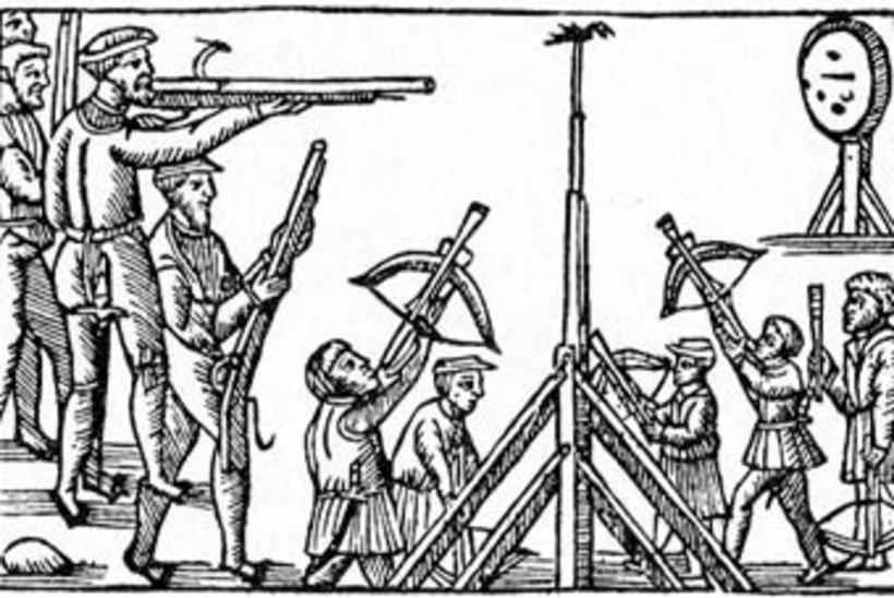 Keskaegsed lõbustused: ammuga lasti papagoid ja suurtükiga härga