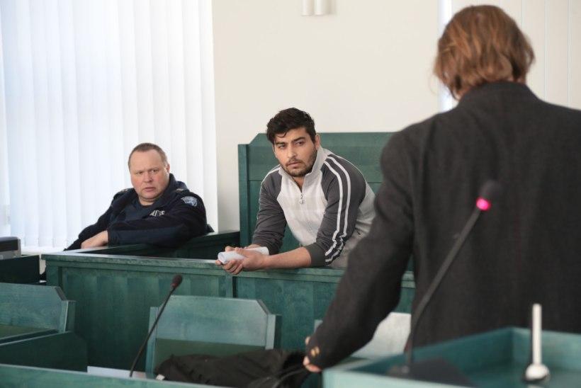 Haapsalus algas kohus naist süüdata ähvardanud pagulase üle