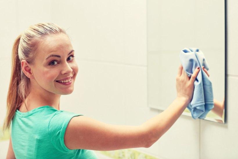 Vannituba mustusest vabaks: valmista puhastusvahend, mis toimib