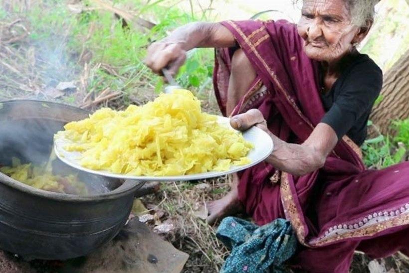 Vanim YouTube'i staar? India vanavanaema röövib oma kokandusvideotega vaatajate südameid