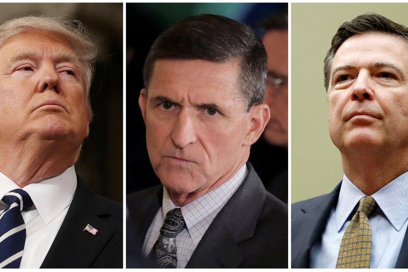 UUED SÜÜDISTUSED: Trump soovitas Comey'l Flynni juhtumi uurimine lõpetada