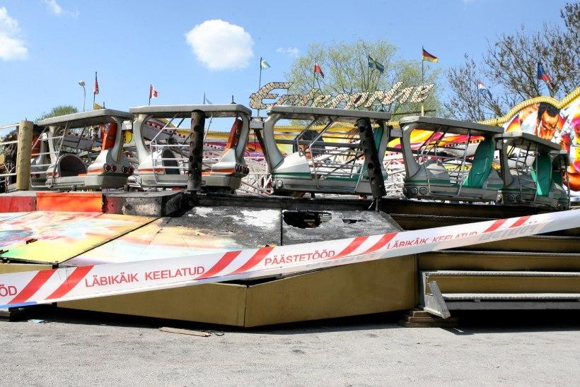 RETRO | Lõbustuspargis süttinud karussell keerutas 25 inimest otse leegitsevasse põrgusse