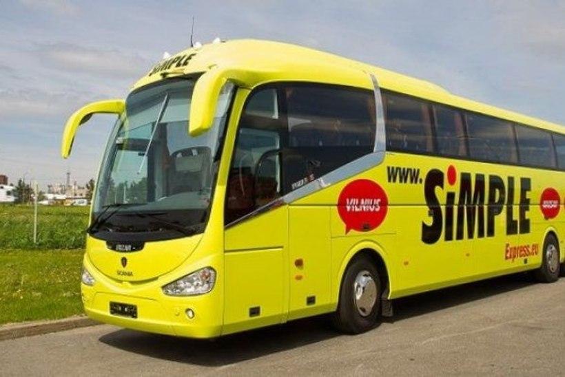 Lux Express убирает дешевые автобусы на линии Таллинн - Петербург