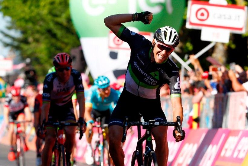 Tanel Kangert oli Giro d'Italial etapivõidule ülilähedal!