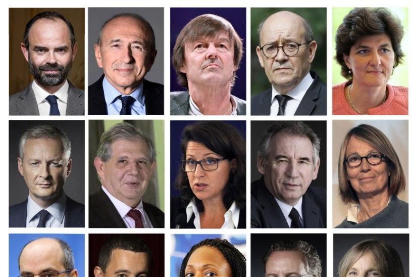 Macroni moodustatud valitsuse liikmetest pooled on naised