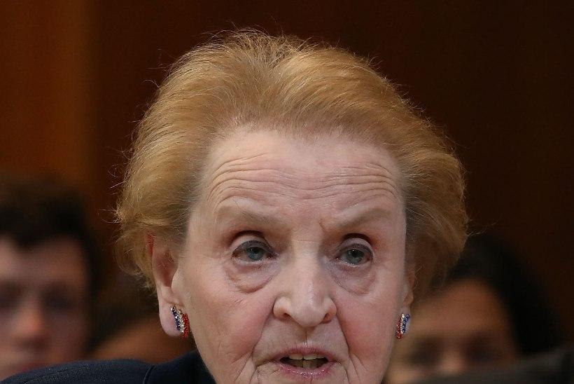 USA endine riigisekretär Madeleine Albright: meie president ei tundu sellisena, kes oleks oma kodutöö ära teinud