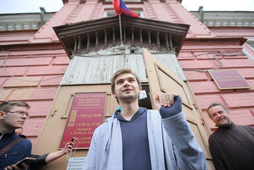 Kirikus Pokemone jahtinud venelane sai arvatust leebema karistuse