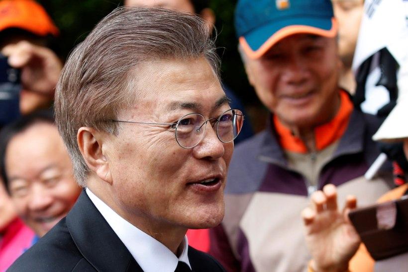 Lõuna-Korea president peab sõda väga tõenäoliseks