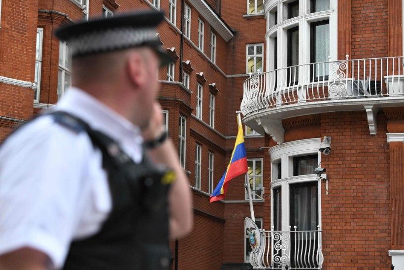 Julian Assange vabanes vägistamissüüdistustest