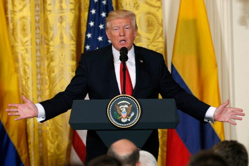 Trump: FBI juurdlus seoses Venemaaga mõjub Ameerikale kohutavalt halvasti
