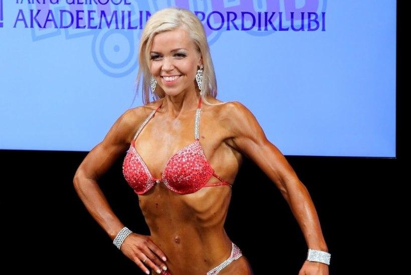 Anneli Vesteli III koht Eesti KV kulturismis ja fitnessis 29.04.2017!