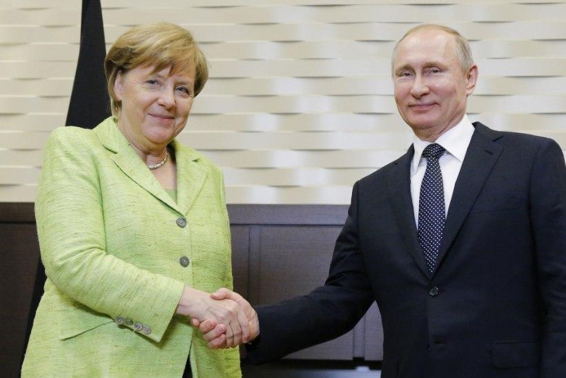Angela Merkel lendas nelja päevaga 14 000 kilomeetrit
