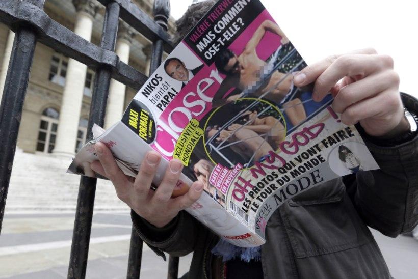 William ja Kate nõuavad Prantsuse ajakirjalt aktifotode avaldamise eest 1,3 miljonit Briti naela