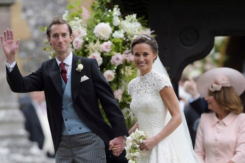 Kate Middletonil oli õe pulmas lapsehoidja roll