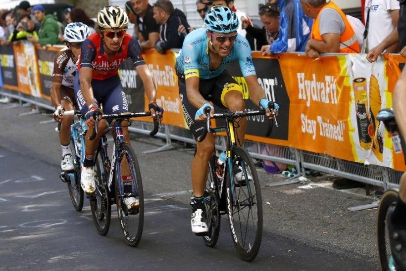 Miks Tanel Kangert Giro d'Italial nii jõhkralt kukkus?