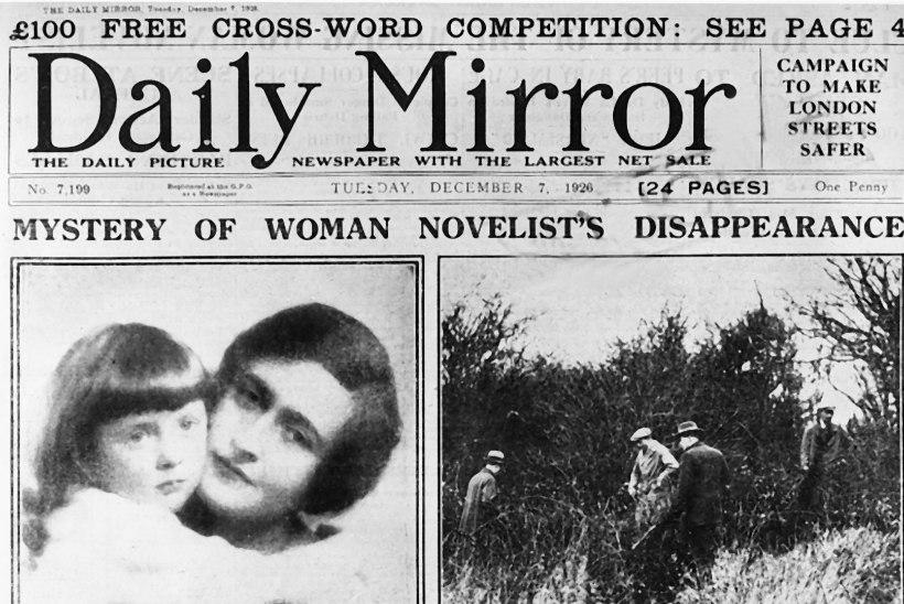 Agatha Christie tahtis tõesti endalt elu võtta?