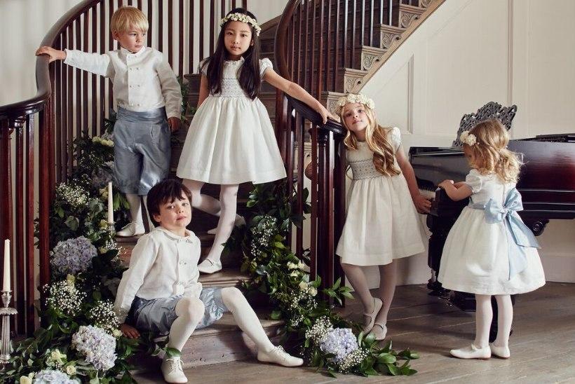 ŠIKID LAPSED: eestlanna pani kuninglikud võsukesed Pippa Middletoni pulmadeks riide