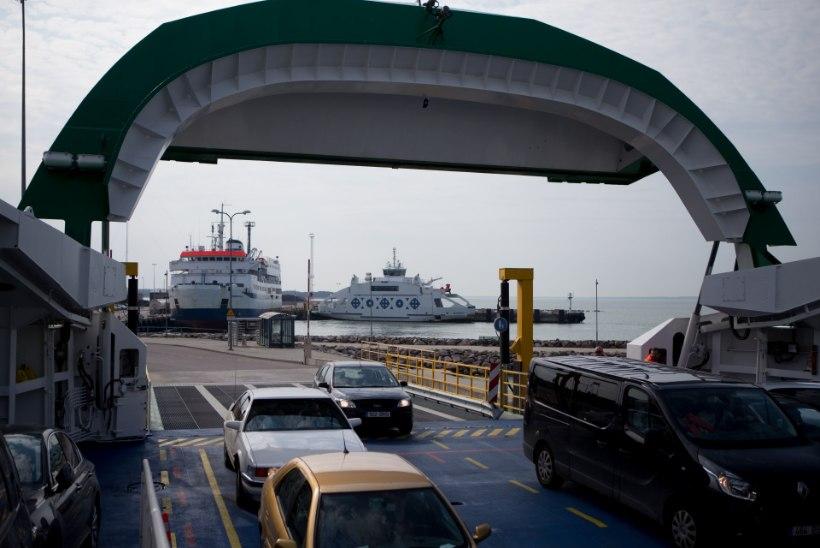 FOTOD | Parvlaev St. Ola kannab nüüd itaaliakeelset nime