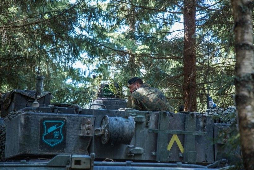 KEVADTORMI FOTOD | Saksa-Briti tankilahing, nagu viimases suures sõjas