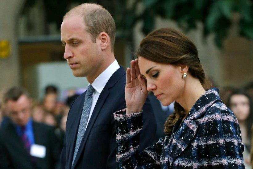 """Prints William Manchesteri rünnakust: """"Nagu kõik teisedki, oleme ka mina, Catherine ja Harry šokis."""""""