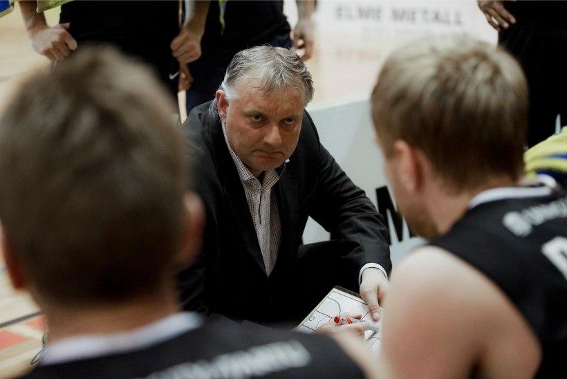 Peatreener Gert Kullamäe lahkub Tartu korvpallimeeskonnast