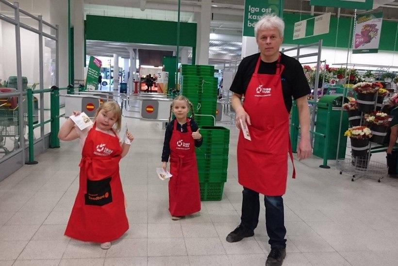 Poekülastajad annetasid hädasolijatele 29 tonni toitu