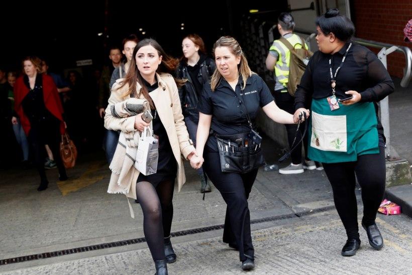 Uus paanika Manchesteris:  Arndale'i ostukeskusest evakueeriti ostlejad