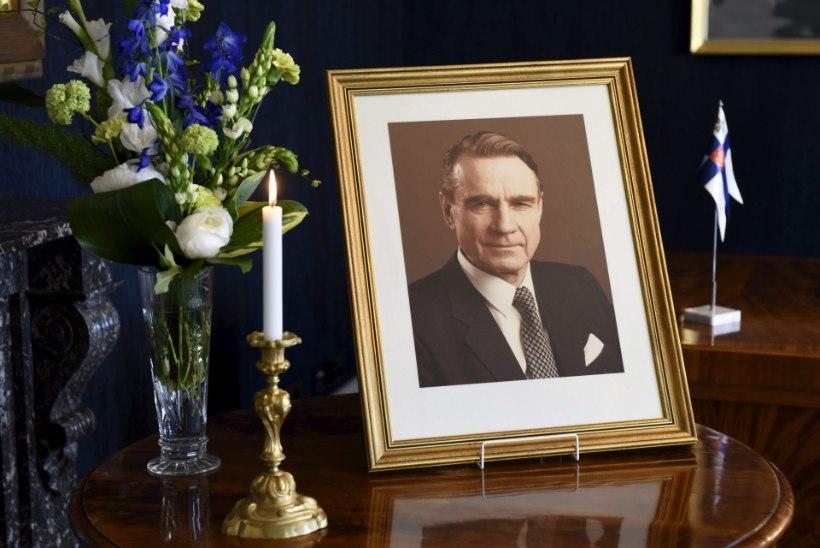Helsingis maetakse president Koivisto