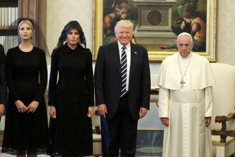 FOTOD | Donald Trump kohtus Vatikanis paavstiga