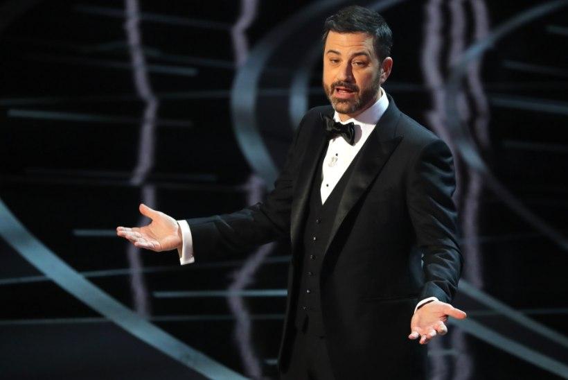 Jimmy Kimmel jätkab fopaale vaatamata Oscarite gala juhina