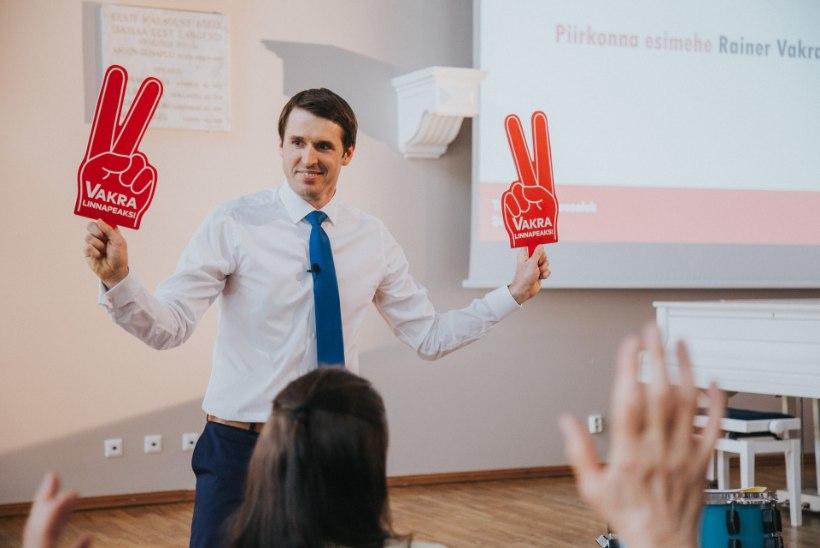 Sotside kandidaat Tallinna linnapeaks on Rainer Vakra