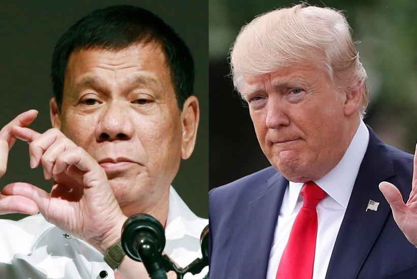 Trump eravestluses Dutertega: Kim Jong-un on tuumarelvadega hull