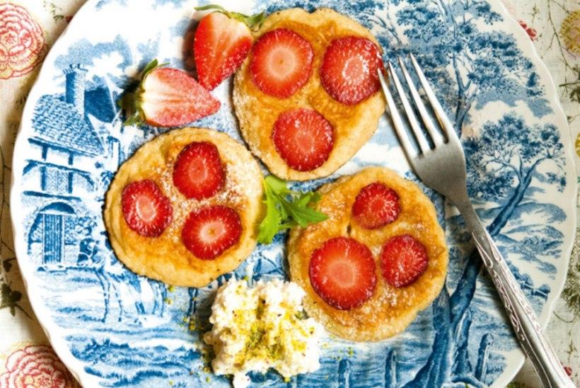 Maasikapannkoogid