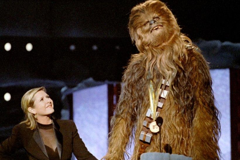 """Carrie Fisher pidi saama üheksandas """"Tähesõdade"""" filmis peaosa"""