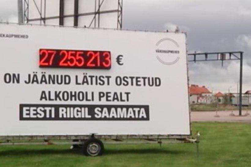 TV3 VIDEO | Alkokaupmehed panid Läti piirile maksuloenduri