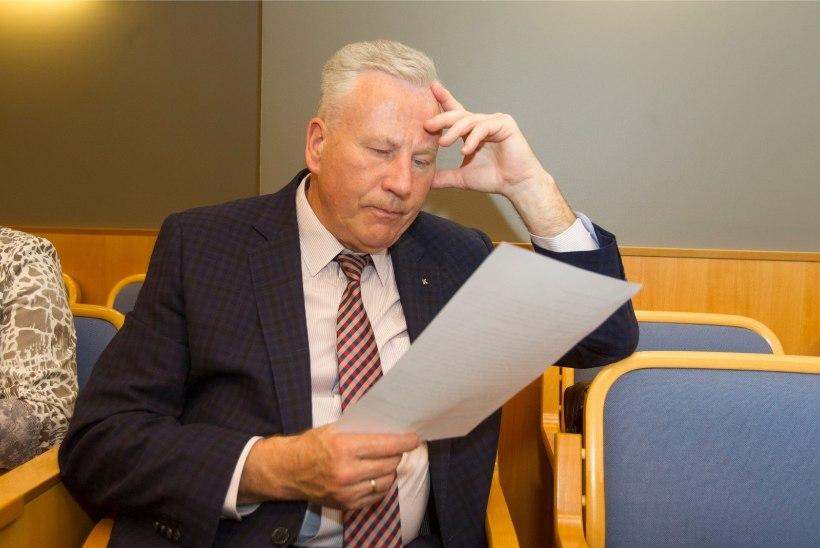 Tallinna abilinnapea Arvo Sarapuu peeti korruptsioonikahtlusega kinni