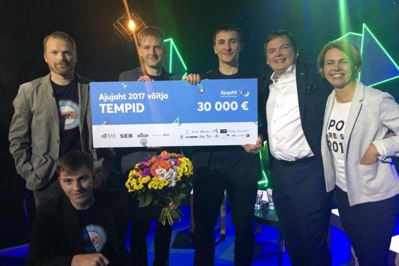 """Äriideede konkursi """"Ajujaht 2017"""" võitis TempID"""