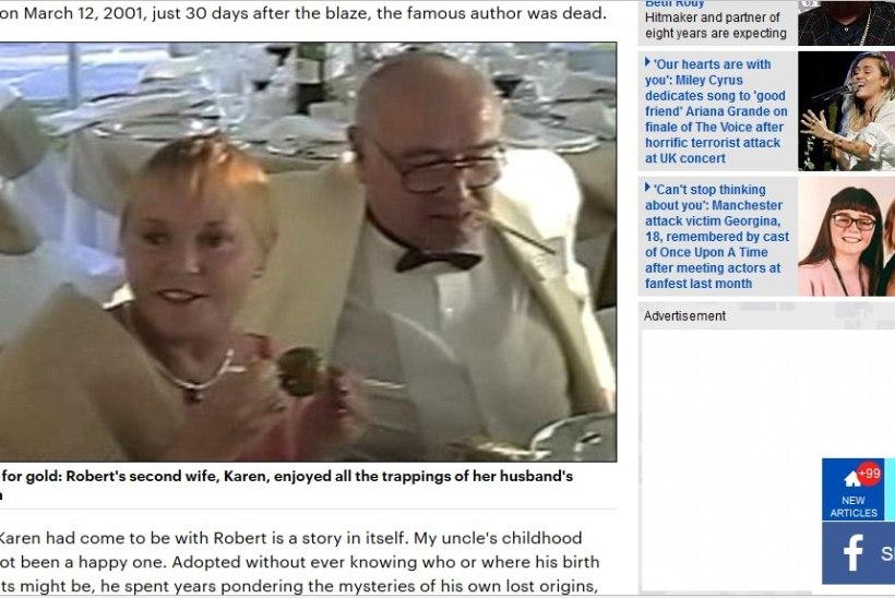 "Sugulased: ""Bourne'i identiteedi"" autori Ludlumi viis hauda tema naine"