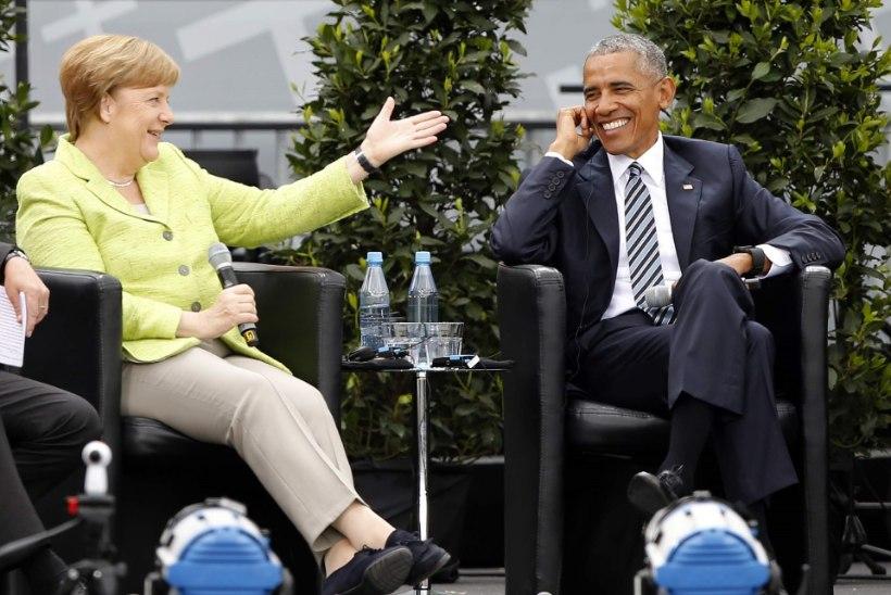 Euroopa vaimustus taas Obamast