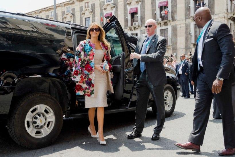 FOTO | Keskmine eestlane peab neli aastat tööd tegema, et Melania Trumpi jakki osta