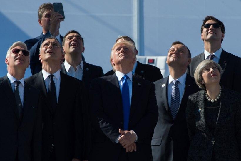 Jõudemonstratsioonid ja kritiseerimine - Trumpi käitumine Brüsselis oli hämmastust tekitav