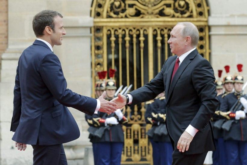 Putini kiire hüpe Prantsusmaale